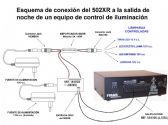 Controlador de lámparas LED 502XR
