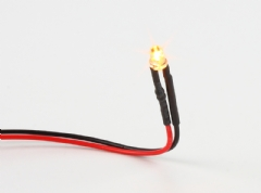 Ver Ficha de Pack 4 LED amarillo 3mm. 12V.