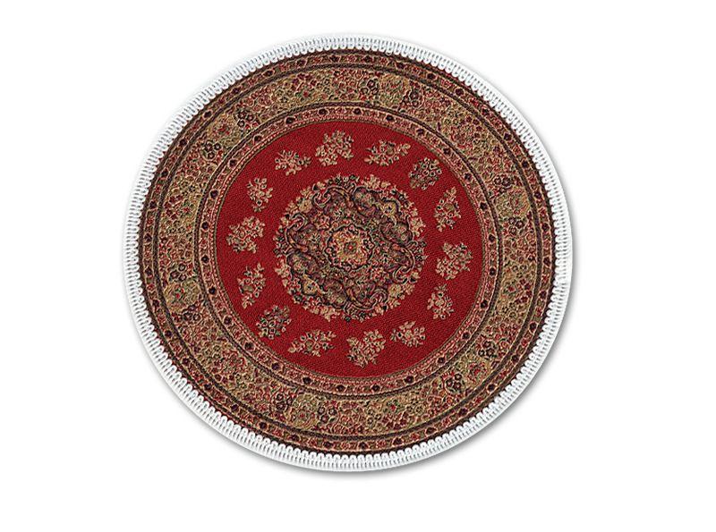 Escenograf as para el bel n alfombra turca redonda for Alfombras persas redondas