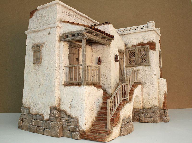 hacer casas para belenes dise os arquitect nicos